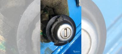 замена замка зажигания рено логан