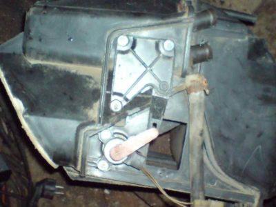 устройство отопителя ваз 2114
