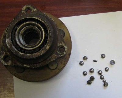 замена ступичного подшипника ваз 2112