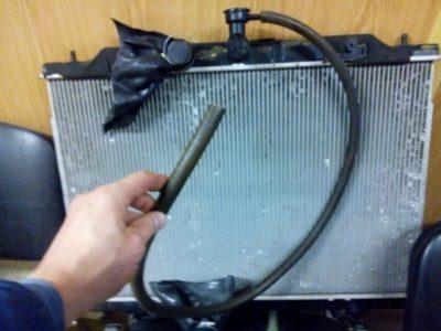 замена радиатора ваз 2112