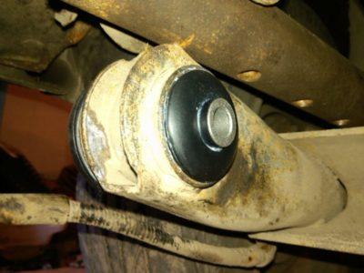 замена задней балки ваз 2109