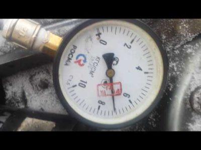 давление в рампе ваз 2110 8 клапанов