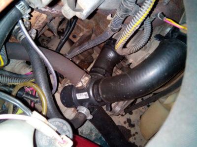 замена термостата ваз 2115