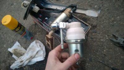 замена топливного фильтра рено дастер дизель