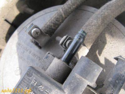 клапан продувки адсорбера приора