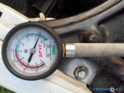 давление в топливной рампе ваз 2114
