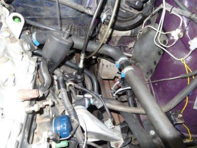 замена патрубков системы охлаждения ваз 2114