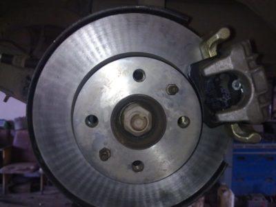 дисковые тормоза на ваз 2114