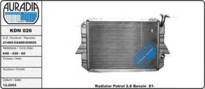 размеры радиатора ваз 2110