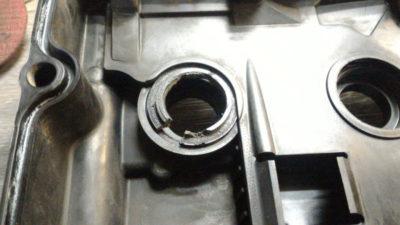 замена сальника коленвала ваз 2110 8 клапанов