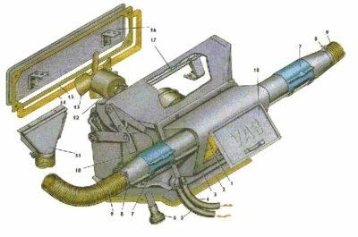 система охлаждения ваз 2110 8 клапанов инжектор