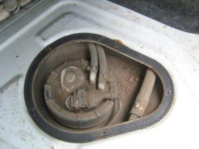 как промыть топливный бак