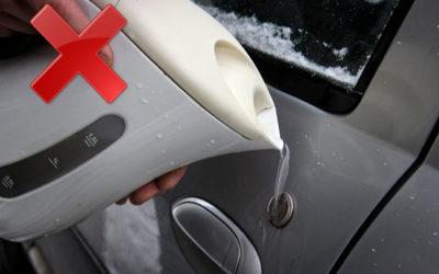 что делать если замерзла вода в бачке