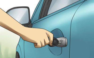 как открыть машину если сигнализация не открывает
