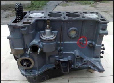 как узнать модификацию двигателя