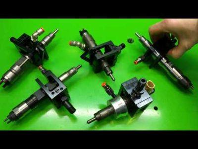 как проверить форсунки инжектора