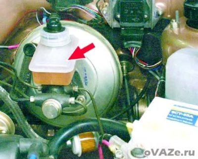 как слить воду с ваз 2109