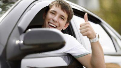 как тормозить на машине