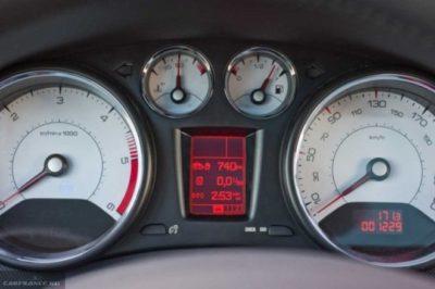 пежо 407 расход топлива
