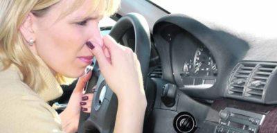 как избавиться от запаха бензина
