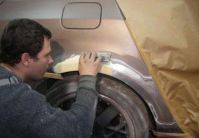 как пользоваться автомобильной шпаклевкой