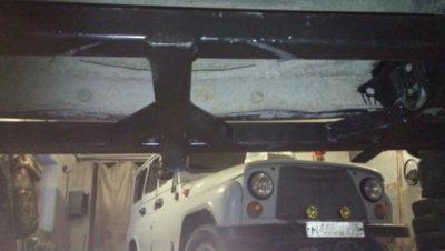установка фаркопа ваз 2107