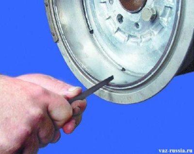 как снять барабан на ваз 2107