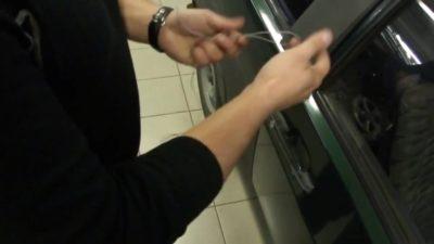 как завести логан без ключа