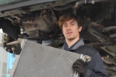 как промыть радиатор охлаждения двигателя