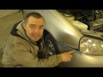 как убрать ржавчину на авто