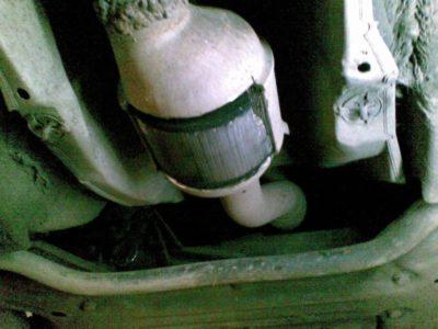 удаление сажевого фильтра фольксваген