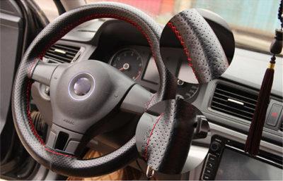 как сшить чехол на руль