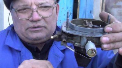 ваз 2107 регулировка карбюратора