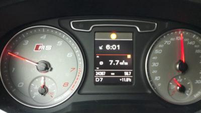 расход топлива ауди q7