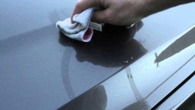 как снять краску с автомобиля