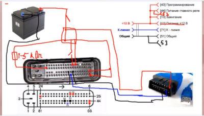 как подключить бортовой компьютер на ваз 2114