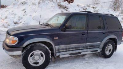 форд эксплорер расход топлива
