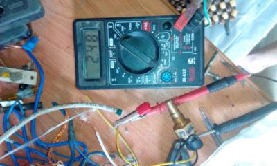 как проверить датчик температуры двигателя