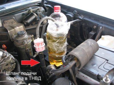 как слить бензин с машины
