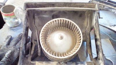 устройство печки ваз 2107