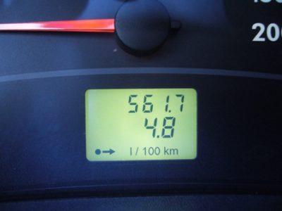 лада приора расход топлива на 100 км