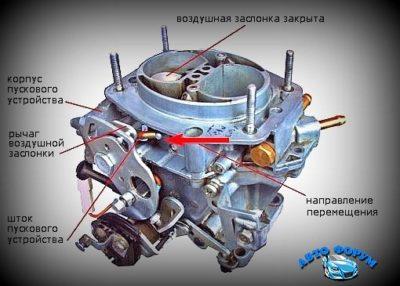 регулировка карбюратора ваз 2109 солекс
