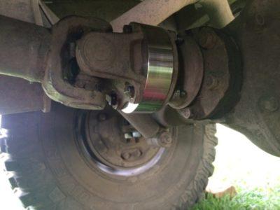 установка пружин на уаз