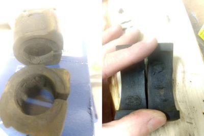 замена втулок стабилизатора на шкода октавия а5