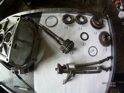 ремонт коробки передач ваз 2107
