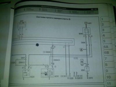 электросхема форд фокус 2