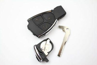 замена батарейки ключ мерседес