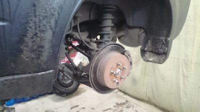 замена тормозных дисков форд фокус