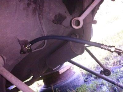 замена стабилизатора ваз 2106
