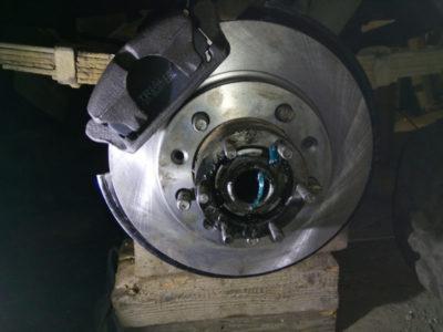 замена тормозных дисков киа рио 3